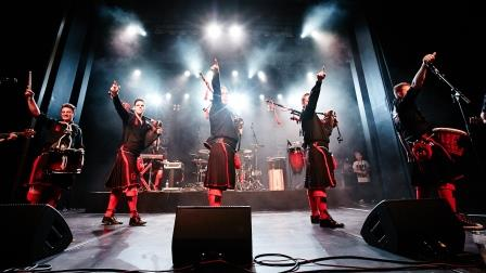 Red Hot Chilli Pipers, at The Grand, 3/13/2016